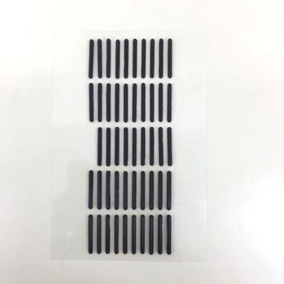 PE・PCシート加工 ゴム製品にテープ加工